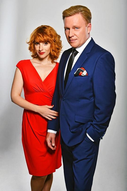 Vica Kerekes a Michal Dlouhý si zahrají v seriálu Kapitán Exner.