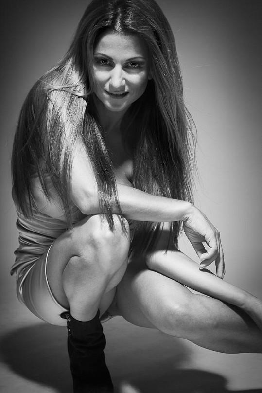 Yvetta Blanarovičová denně cvičí, aby se udržela ve formě.