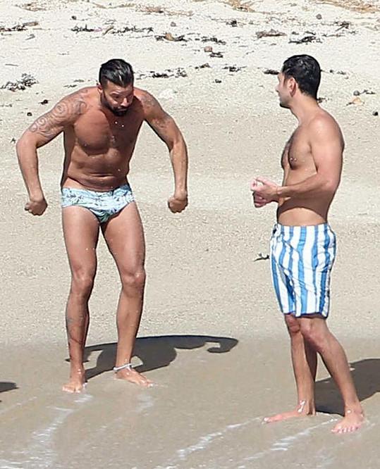 Ricky Martin se snoubencem odjeli do Puerto Vallarta.