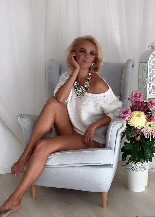 Lucie Špaková v nové kampani