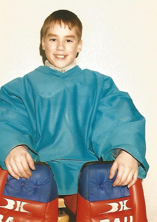 Patrik Děrgel se od malička aktivně věnoval hokeji.