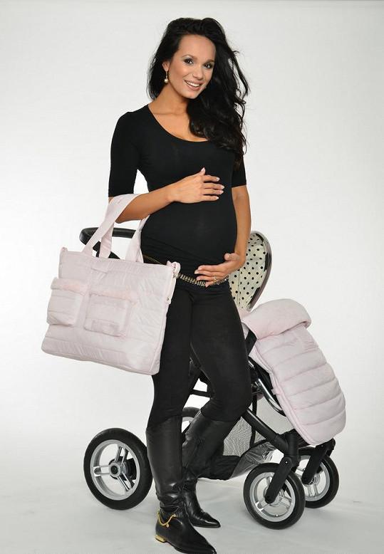 Gábina Dvořáková je v devátém měsíci těhotenství.