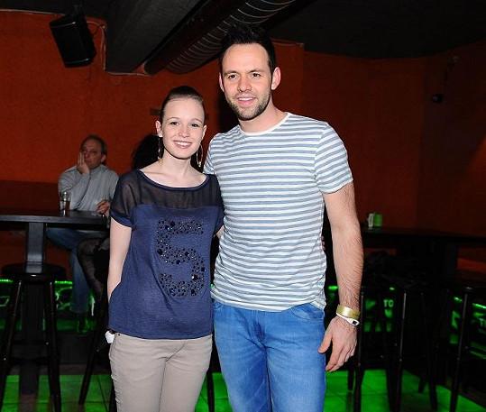Michael Foret dnes. Na fotce s přítelkyní.
