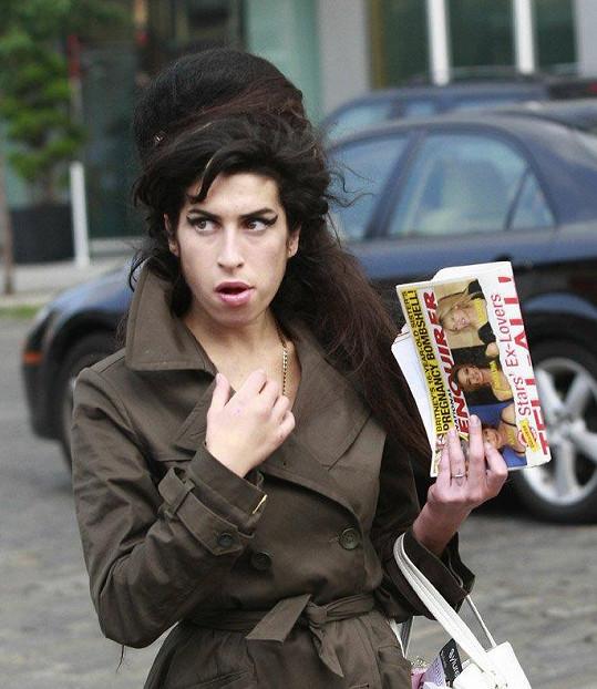 Amy Winehouse v New Yorku v roce 2007