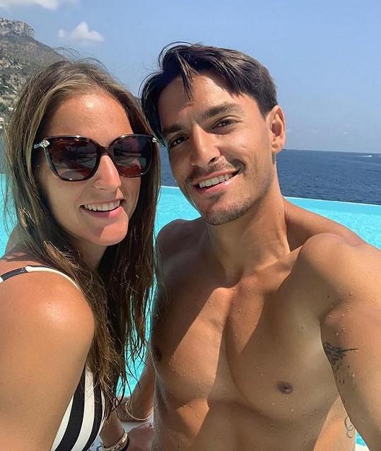 Manželé si užívají v Monaku, kde měli loni svatbu.