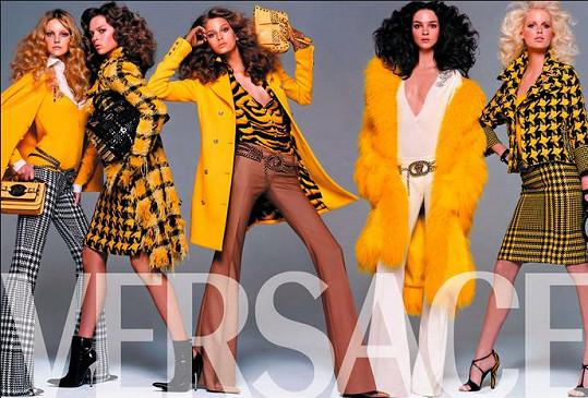 Hana se již v minulosti objevila v kampani Versace.