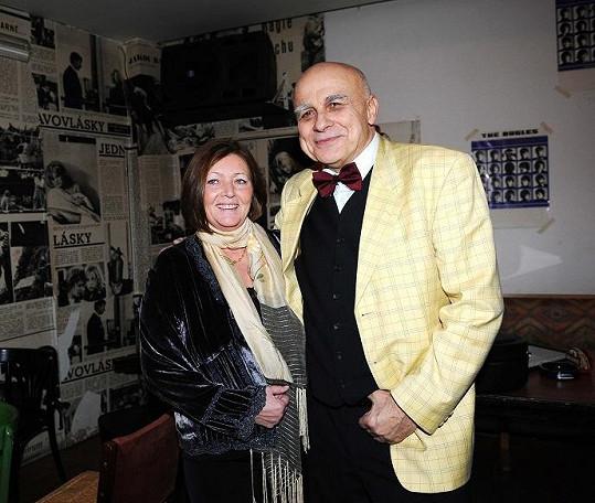 Ivan Mládek s manželkou Evou.
