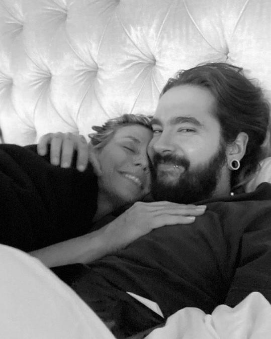 S manželem Tomem Kaulitzem