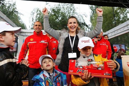 Marešovic rodinka vyhrála soutěž ve skládání lega.