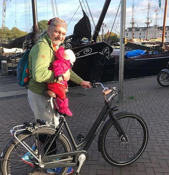 V Amsterdamu se Hůlkovi velmi zalíbilo.