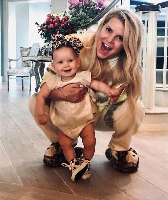S nejmladší dcerou Birdie