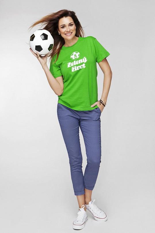 Manželka Gigiho Buffona spojila síly s českými fotbalovými kluby.