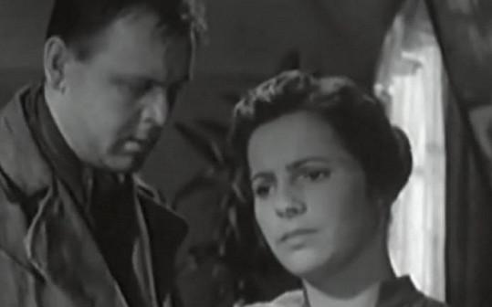 Nejslavnější film Jiřiny Švorcové Král Šumavy (1959). Se Stanislavem Remundou.