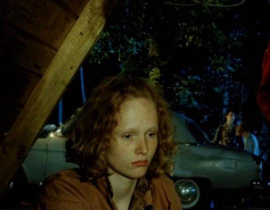 Zahrála si ve filmu Ondřeje Trojana z prostředí pionýrského tábora.