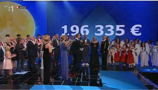 Vybralo se přes 5 miliónů korun.