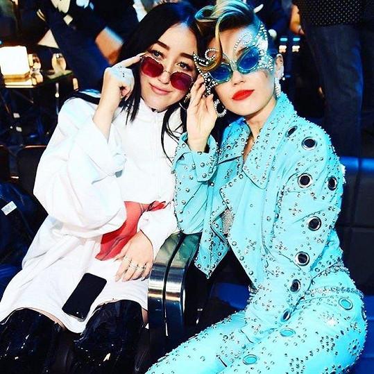 S Miley jsou si ale velmi blízké.