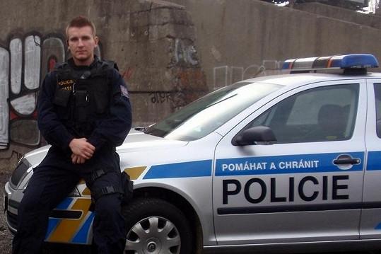 Martin Klušák je policista