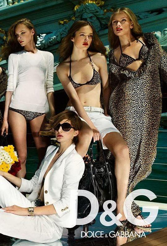 Zuzana pro Dolce & Gabbana
