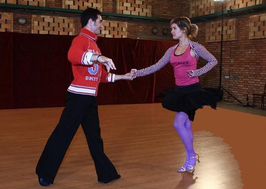 Zuzana Norisová tančila ve Star Dance.