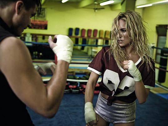 Táňa a Ondřej v ringu