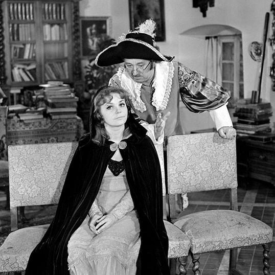 Klára Jerneková v seriálu Byli jednou dva písaři (1972)