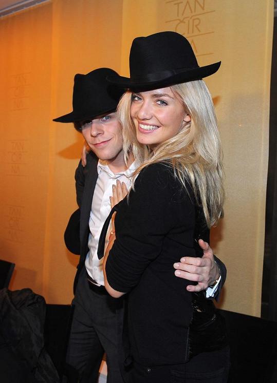 Táňa se svým tanečníkem Janem Onderem