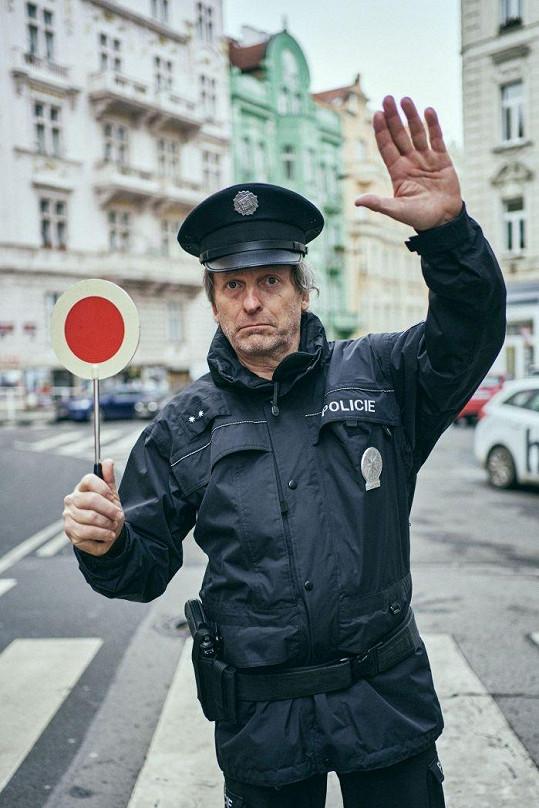 David Prachař jako policista