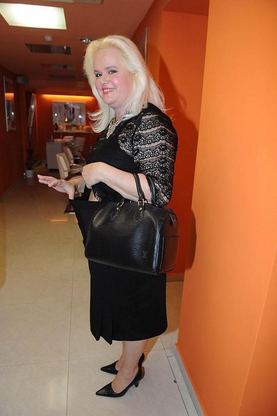 Mamá Štiková prý v poslední době zhubla patnáct kilogramů.