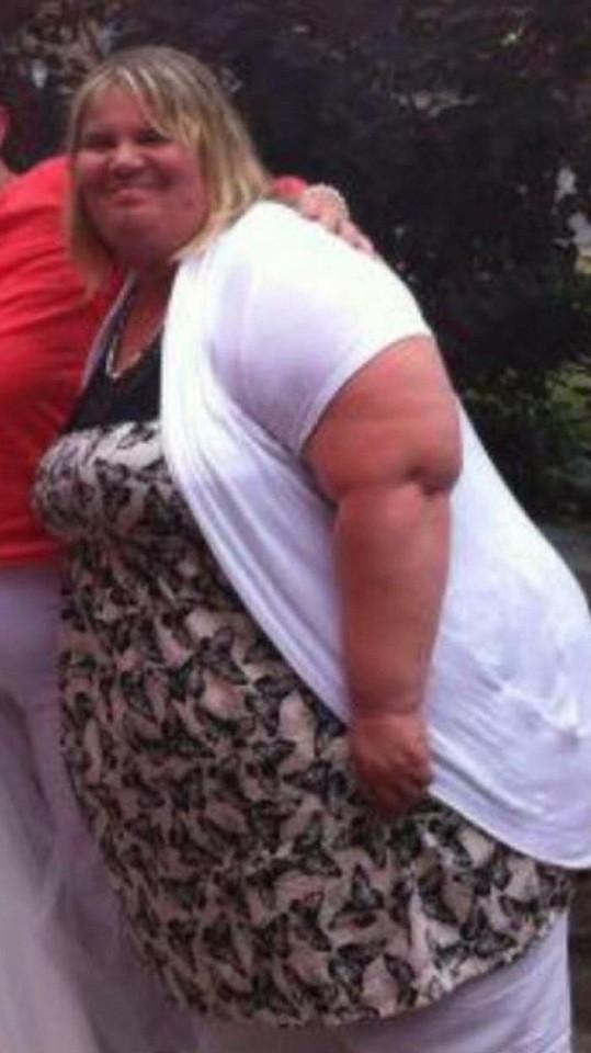 V nejtučnějším období vážila 190 kilogramů.