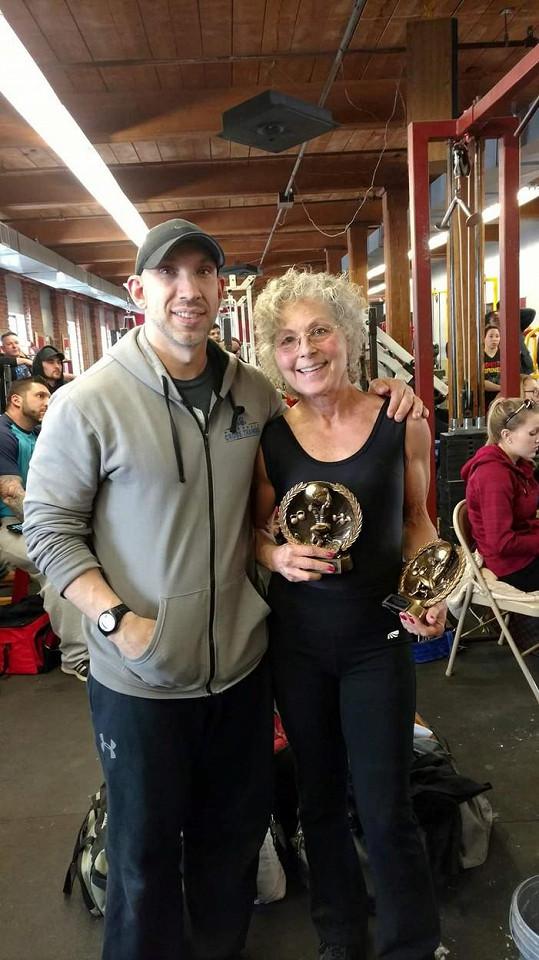 S trenérem začala cvičit před více než 10 lety.