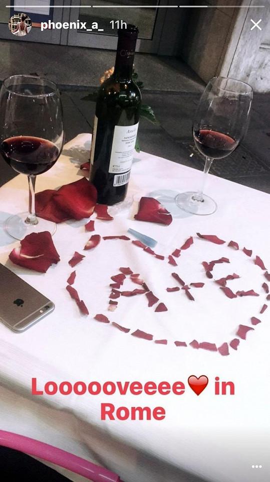 Romantika v Římě