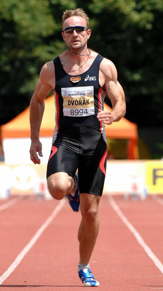 Tomáš Dvořák je bývalý bronzový medialista z olympiády v Atlantě.