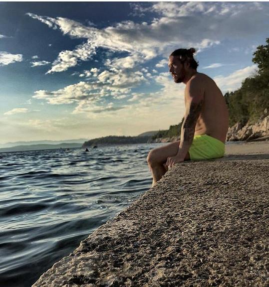 Muž roku 2017 vyrazil k moři do Chorvatska.