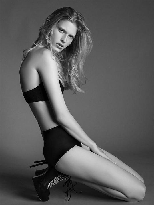 Takto fotila česká kráska s českou fotografku Lucií Robinson.