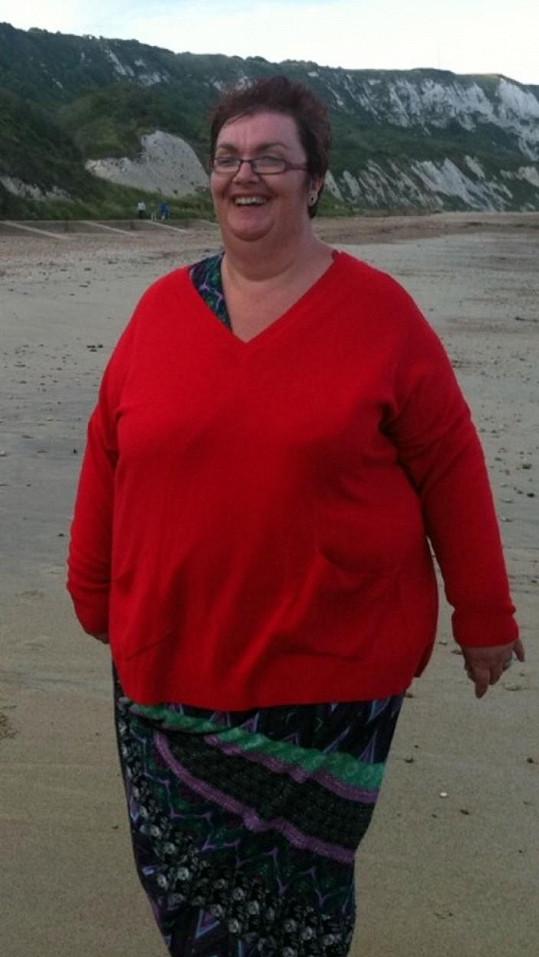 Angličanka chtěla původně zhubnout jen na dovolenou.