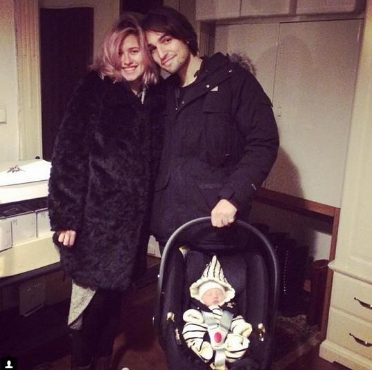 Emma s Jordanem mají dceru Lennon Marlene.