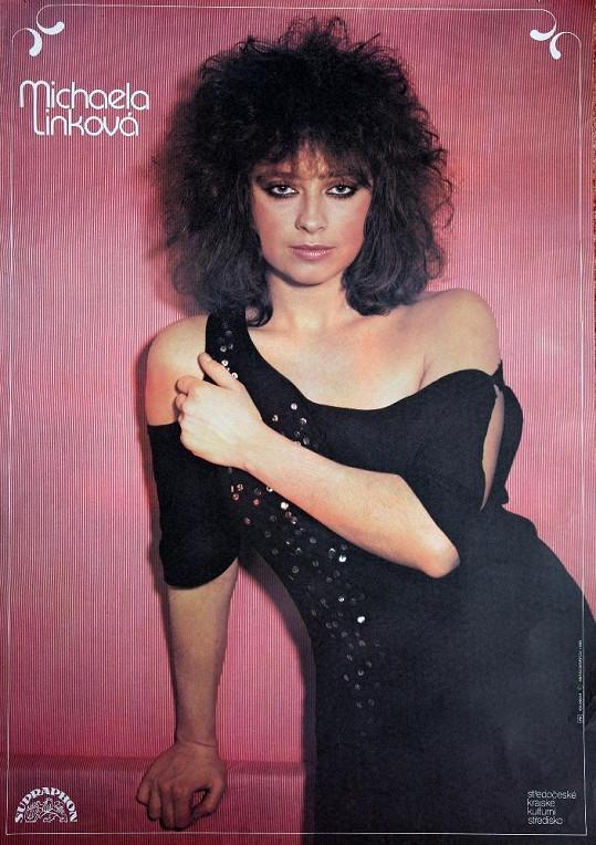 Takhle vypadala v době, kdy zpívala písničky Abeceda lásky a Televizní dívka Líza...