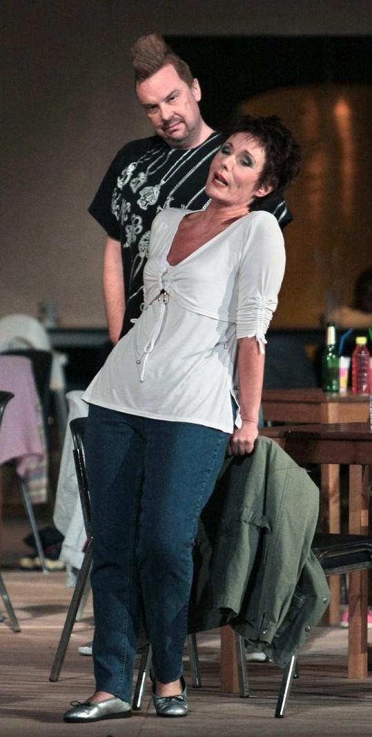 Štefan Margita během zkoušky opery Wozzeck z roku 2009.