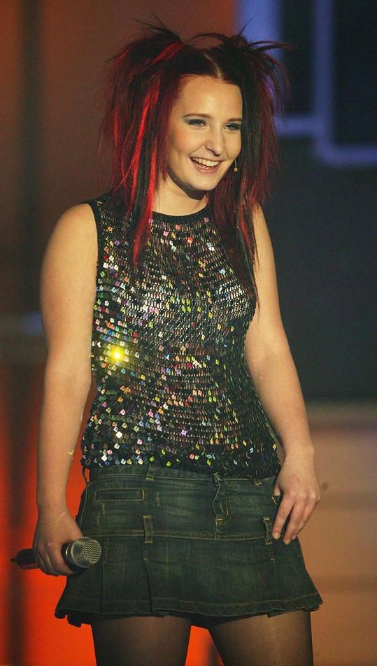 Bára Zemanová v roce 2006 v SuperStar