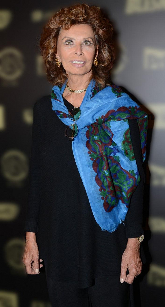 Sophia Loren byla velmi milá a sdílná.