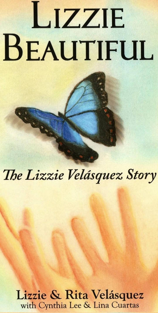 Lizziina první kniha. Zanedlouho jí vyjde už druhá.