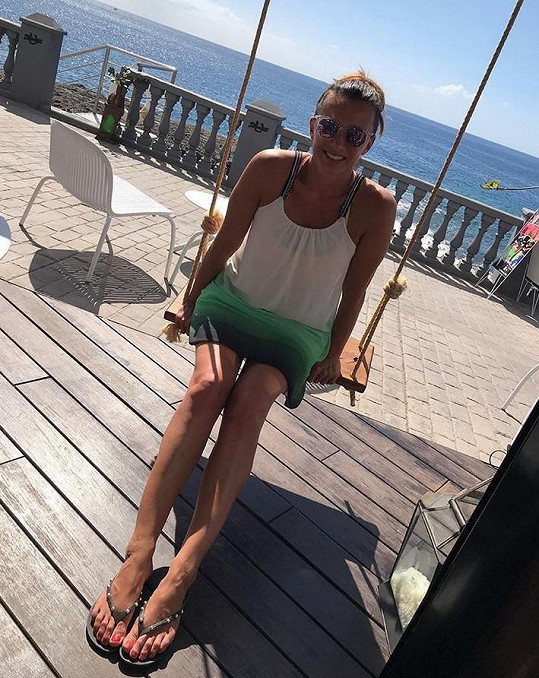 Alice létá na Kanárské ostrovy několikrát do roka.
