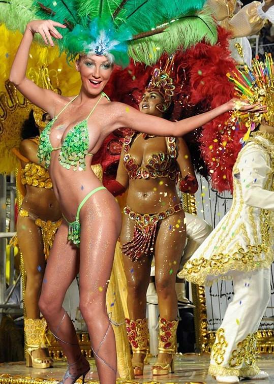Brazilská tanečnice.