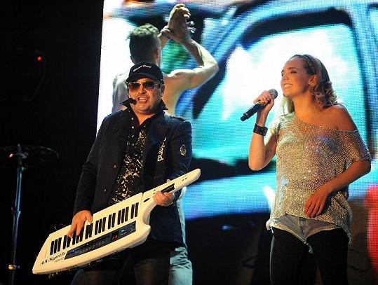 Lucka měla společní turné s Michalem Davidem.