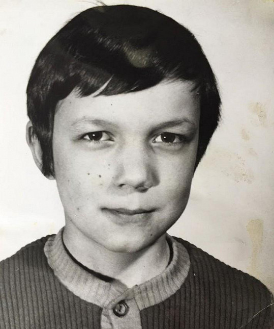 Genzer se pochlubil snímkem z roku 1974.