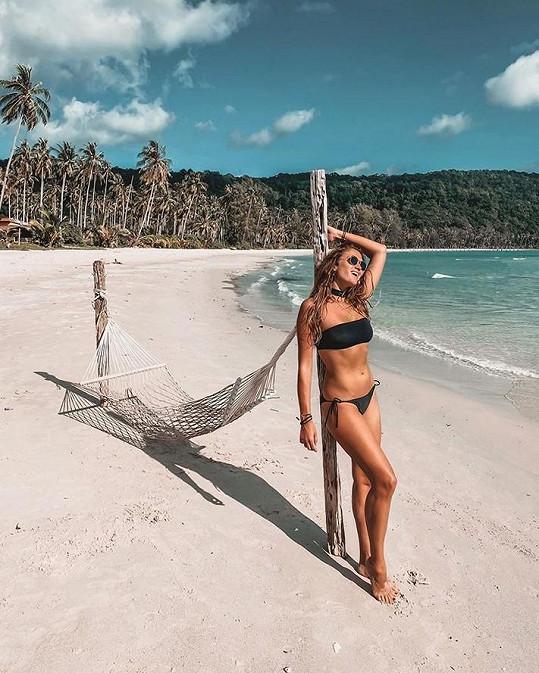 Tentokrát byla v Thajsku.