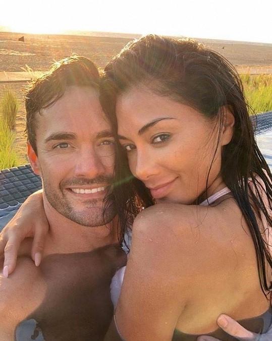 Thom si na svůj účet na Instagramu přidal zamilovanou fotografii z dovolené v Mexiku.