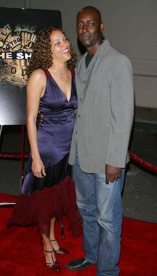 Michael Jace s manželkou v roce 2004