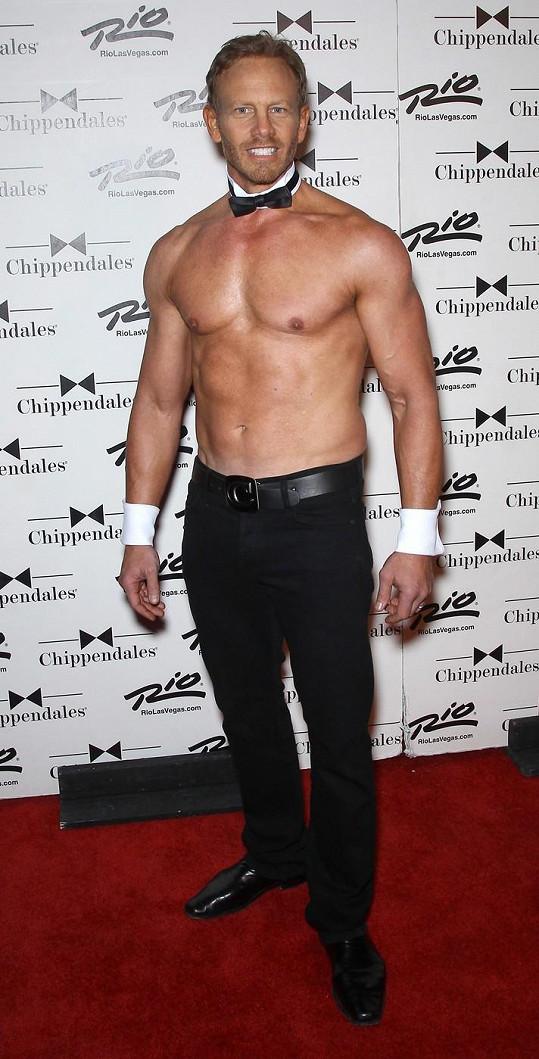 Ian Ziering má vypracované tělo.