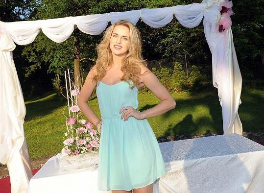 Gábina Gunčíková patří k nejkrásnějším českým zpěvačkám.